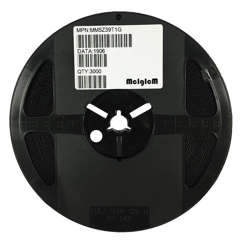 MCIGICM MM5Z39VT1G Zener Diode 39V 500mW Surface Mount SOD-523 MM5Z39V