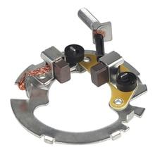 Мотоциклетный стартер мотора угольные щётки, а также смазывайте механизм стартер для Honda Cb400 1992 1993 1994 1995 1996 1997 1998
