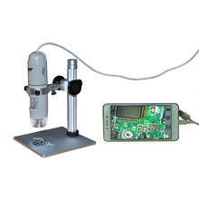 1X~500X USB Digital Microscope 8 White-light LED/0-30000LUX Android phone or tablet with OTG function