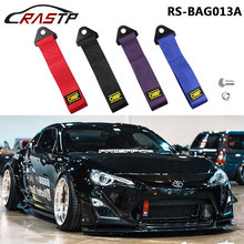 2017 New OMP Towing Rope Thicker Nylon Strap Tow Loop Racing Drift Rally Emergency Tool Front Rear Bumper Hook RS-BAG013A