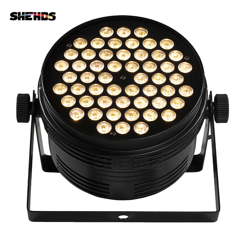 4PCS Aluminum Alloy LED Par 54x4W Cool And Warm DMX512 Stage Effect Lighting Good For Christmas Decorations And DJ Disco Party4PCS Aluminum Alloy LED Par 54x4W Cool And Warm DMX512 Stage Effect Lighting Good For Christmas Decorations And DJ Disco Party