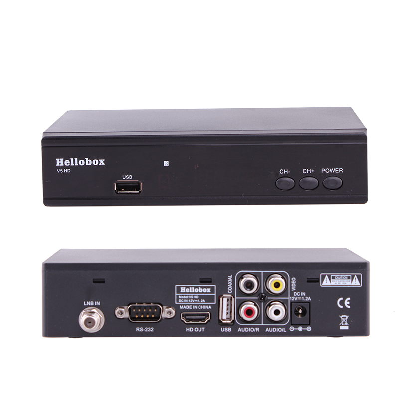 Hellobox V5 Satellite Receiver DVBS2 IPTV For Cccam Function Online