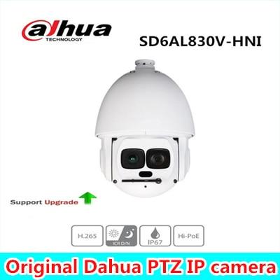 Dahua PTZ Network Camera SD6AL830V-HNI 4K 30x Laser PTZ Network Camera 12 Megapixel Support Hi-PoE IR distance up to 500m hikvision ds 2de7230iw ae english version 2mp 1080p ip camera ptz camera 4 3mm 129mm 30x zoom support ezviz ip66 outdoor poe