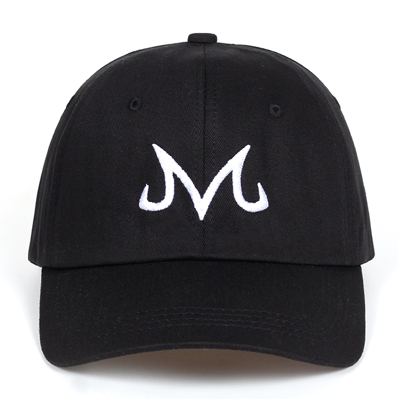 2018 new High Quality Brand Majin Buu Snapback Cap Cotton Baseball Cap For Men Women Hip Hop Dad Hat golf caps Bone Garros Наручные часы