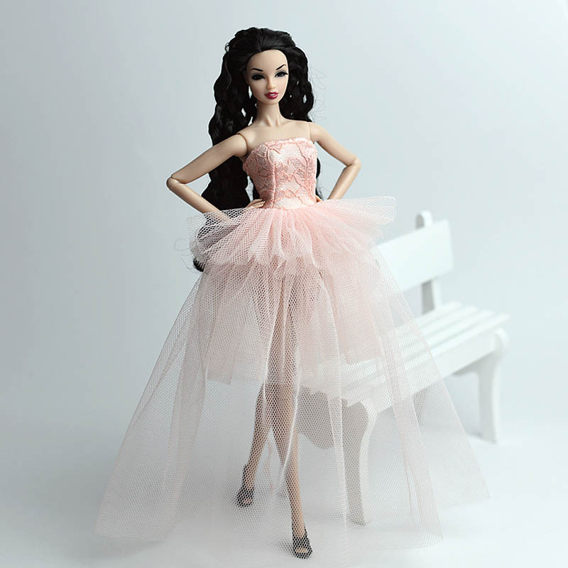 ⊹Doll Clothes For Barbie Princess Wedding Dress Noble Party Gown ...