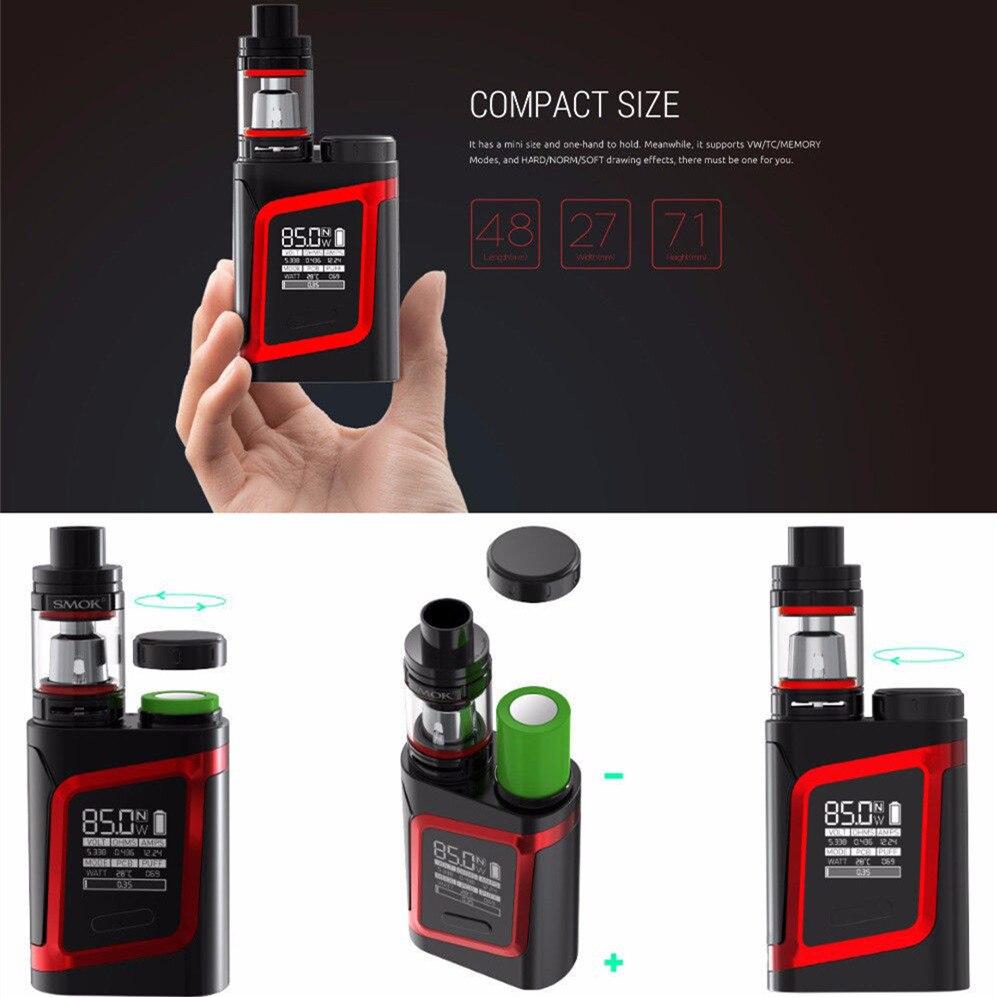 SMOK Alien Vape Tank Box Kit Big Vapor Smoke AL85 80W Electronic
