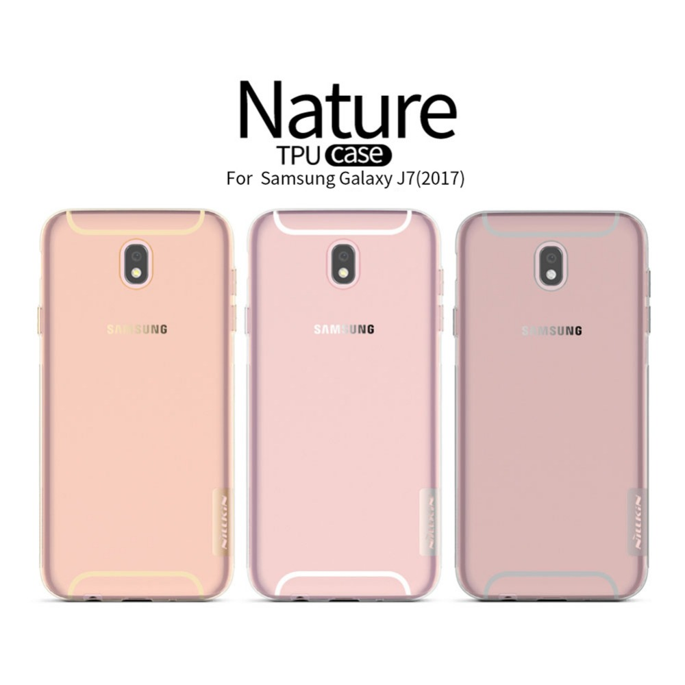 NILLKIN TPU protective <font><b>mobile</b></font> phone <font><b>case</b></font> For <font><b>Samsung</b></font> Galaxy <font><b>J7</b></font> <font><b>2017</b></font> back cover <font><b>case</b></font> soft silicon back cover <font><b>J7</b></font> Pro phone <font><b>cases</b></font> image