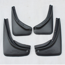 Free Shipping High Quality ABS Plastics Automobile Fender Mudguards Mud Flaps For 2016 Jeep Renegade