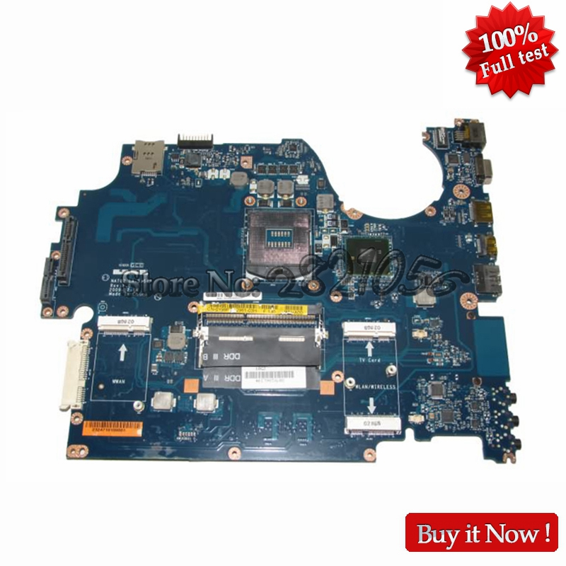 CN-0Y99F7 0Y99F7 Laptop Motherboard For Dell studio 1747 1749  Main Board NAT02 LA-5154P HM55 HD Graphics S988a DDR3 cn 006x7m 006x7m 06x7m main board for dell latitude e5420 laptop motherboard hm65 ddr3 10elt16g001 a