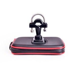 Image 3 - Bolsa impermeable para soporte de teléfono para motocicleta GPS, para manillar de bicicleta, con ranuras para tarjetas