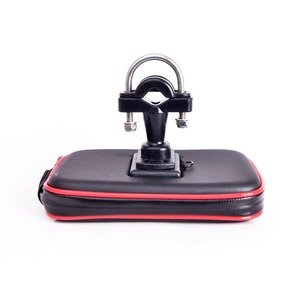Image 3 - Newest Upgrade Waterproof Bag GPS Motorcycle Phone Holder Bag Bicycle Phone Holder Bike Handlebar Support Moto Mount Card Slots