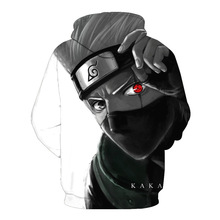 Kakashi Zip Up Hoodies 3D Printed