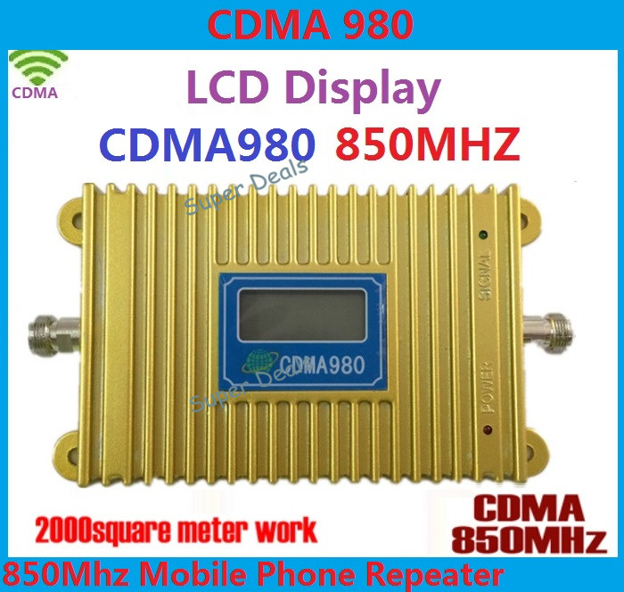 CDMA Mobile Phone Signal Repeater gsm 2g 4g cellular signal booster support data LTE FDD signal amplifiers 850MHz booster