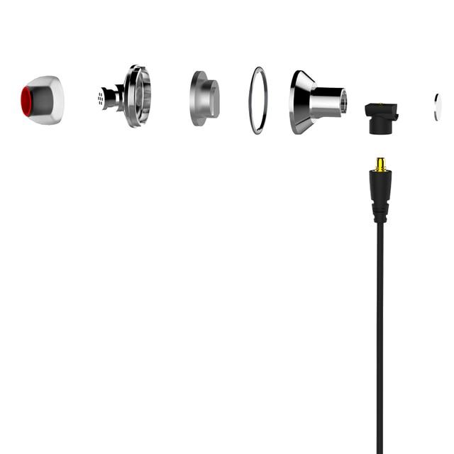 DUNU TITAN 3 HiFi Inner-ear Earphone Titanium Diaphragm Dynamic High Fidelity Earphones with MMCX connector TITAN3 TITAN-3 3
