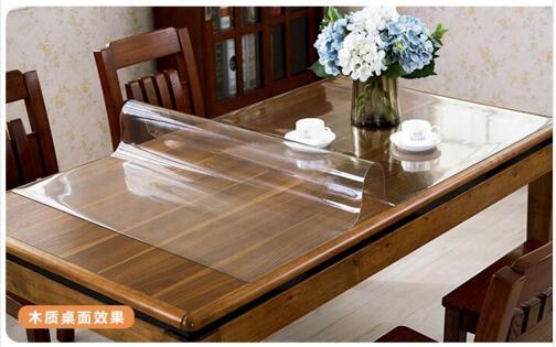 acheter transparent pvc nappe de transparent pvc tablecloth fiable fournisseurs. Black Bedroom Furniture Sets. Home Design Ideas