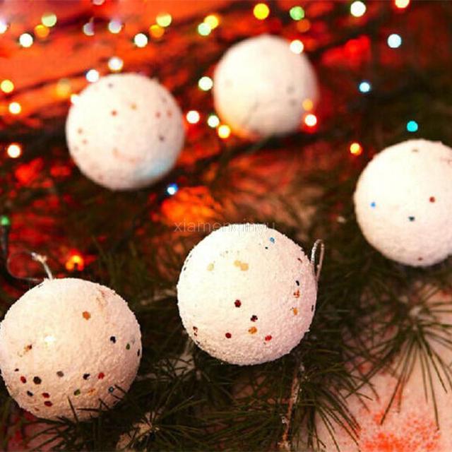 Molto 6 pz 4 CM Palline di Polistirolo Polistirolo Schiuma palla di Neve  SV32