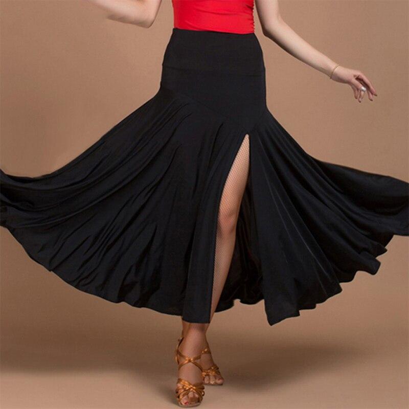 2017 New Arrival Ballroom Dance Skirts Practice/Performance Waltz/Modern Dance /Tango Skirt Vestido Juvenil JDQ6032