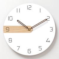 Acrylic Wall Clock Art Silent Simple wood Wall Watch Living Room Clocks Modern Minimalist Nordic Fashion Restaurant Decor