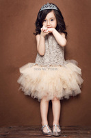 Eleven Story Girls Summer Baby Princess Party Tutu Dress Children Clothes Kids Wholesale Clothing 7AA504DS