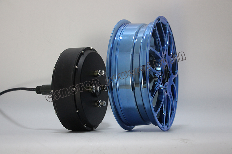 Scooter Wheel Hub <font><b>Motor</b></font> 12inch <font><b>5000W</b></font> 260 Brushless DC Electric Single Shaft Detachable Bike <font><b>QS</b></font> <font><b>Motor</b></font> image