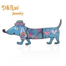 Colorful Dachshund Brooches Men Collar Pin Women Cute Animal Small Dog  Brooch Classic Fashion Female Jewelry 8d1e0ca0f052