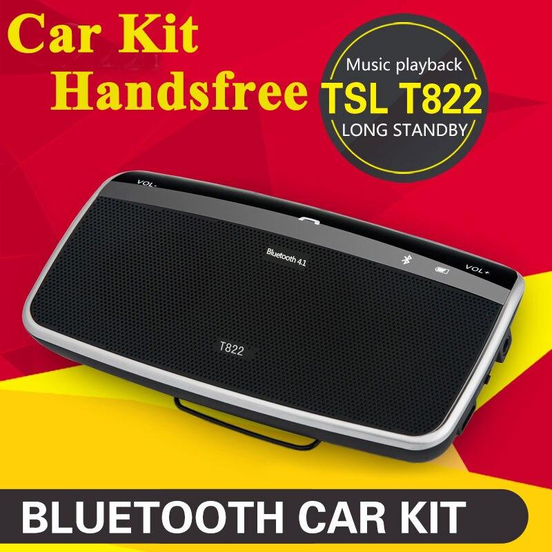 imágenes para 2017 Nuevo Bluetooth Automóviles Parasol Altavoz Manos libres En el Automóvil de Calidad Kit de Coche Manos Libres Kit de Coche con DSP HD Juego de la música