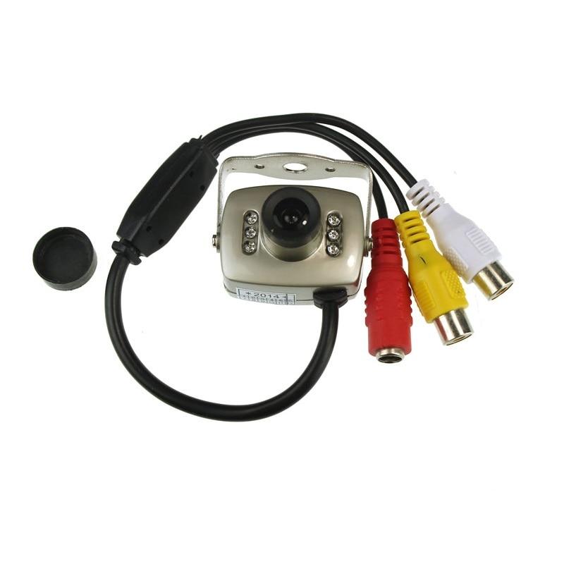 Mini vision nocturne caméra Vidéo et Audio Couleur Sécurité Vidéo avec Micro téléphone Caméra