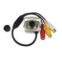 Mini night vision camera Video and Audio Color Security Video with Micro phone Camera