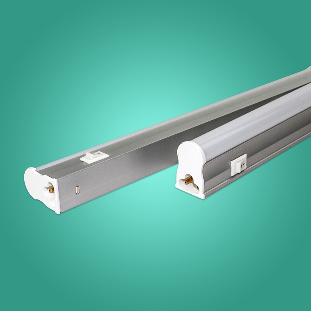 IMINOVO LED Tube T5 Light Integrated 110V 220V 300MM 6W 600MM 10W Milky Cover With Swtich SMD 2835 T8 Wall Lamp Warm Cool White 10w ac 110v 220v integrated led tube light bulb t8 led lamp tube 600mm smd 2835 wall lamps cold warm white lampada led spotlight