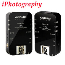 Yongnuo YN-622N Ю. Н. 622 Беспроводной I-TTL ITTL HSS 1/8000 S Вспышка Триггера 2 Трансиверы для Nikon DSLR