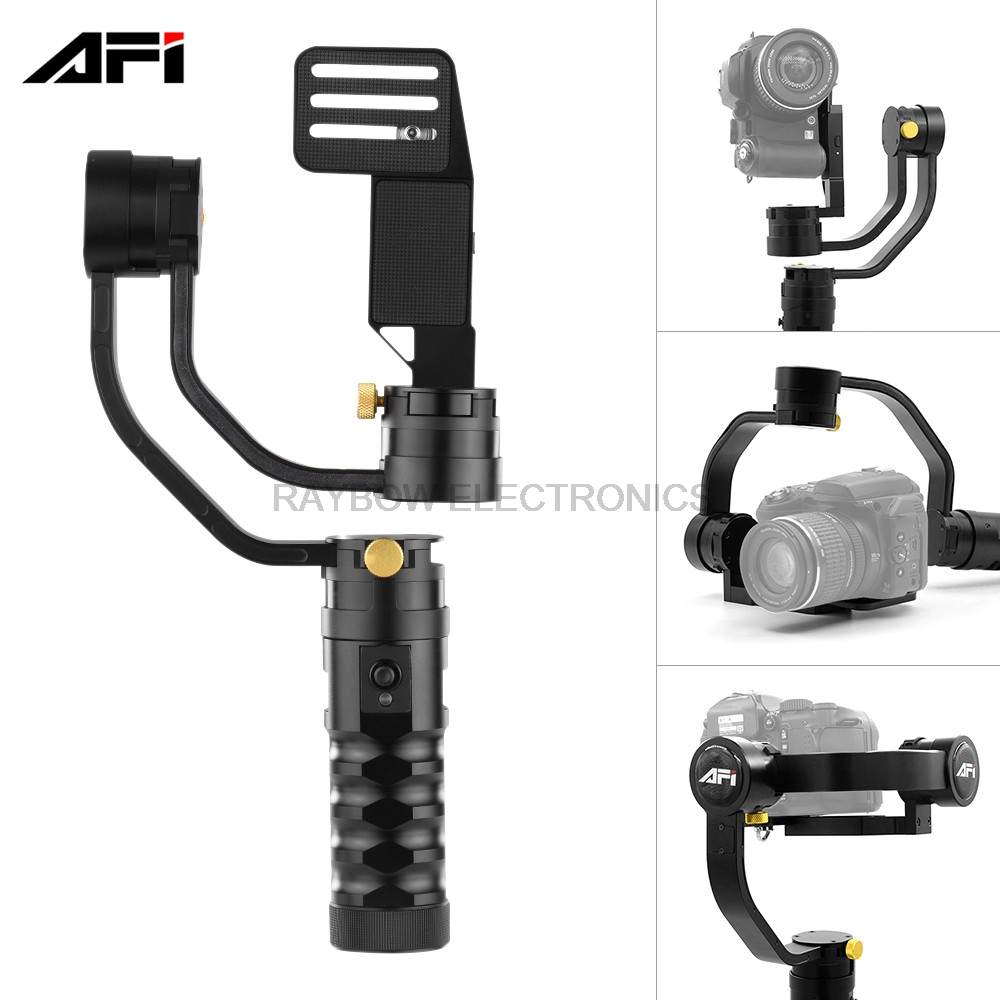 China AFI VS 3SD PRO 3 Axis brushless handheld aluminum gimbal stabilization for Canon Sony