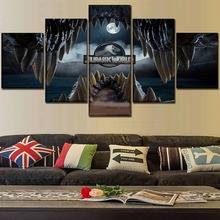 Modern Decor Movie Jurassic World HD Print Painting 5 Piece Canvas Art painting on canvas poster Room