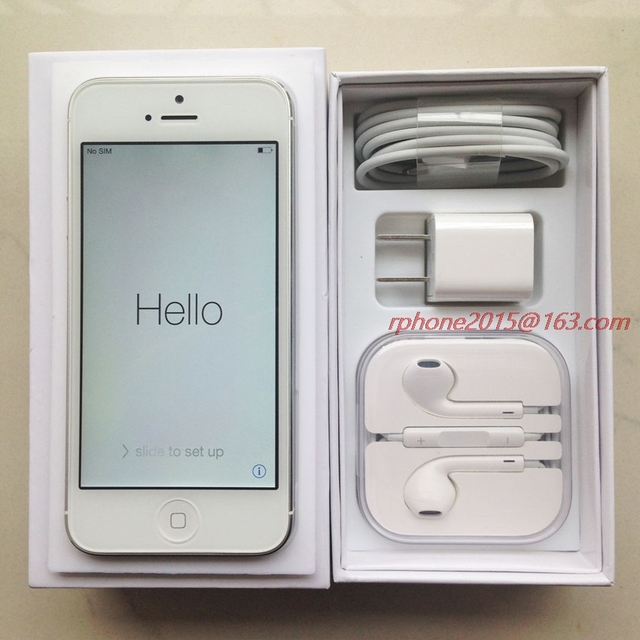 "Apple iPhone 5 Used (90%New) Mobile Phone GSM 3G 16GB 32GB 64GB ROM Wifi 8MP 4.0"" IOS Cellphone Unlocked Original 6"