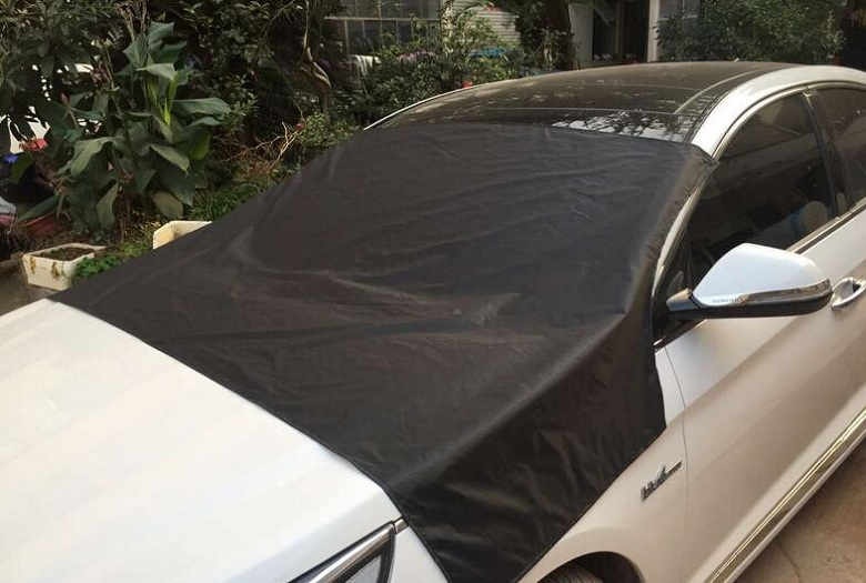 Car Window Cover Sunshade Snow Covers with Magnet stciker Reflective Foil for all Car Windshield prevent frost/mist Anti-UV Wh auto car windscreen snow ice frost windshield roof covers protector 610025