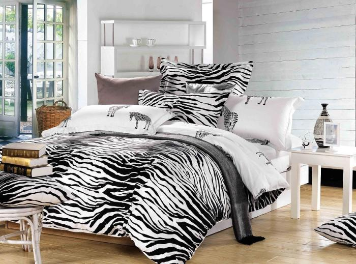black and white bedroom sets black and white zebra print bedding set size duvet 18337