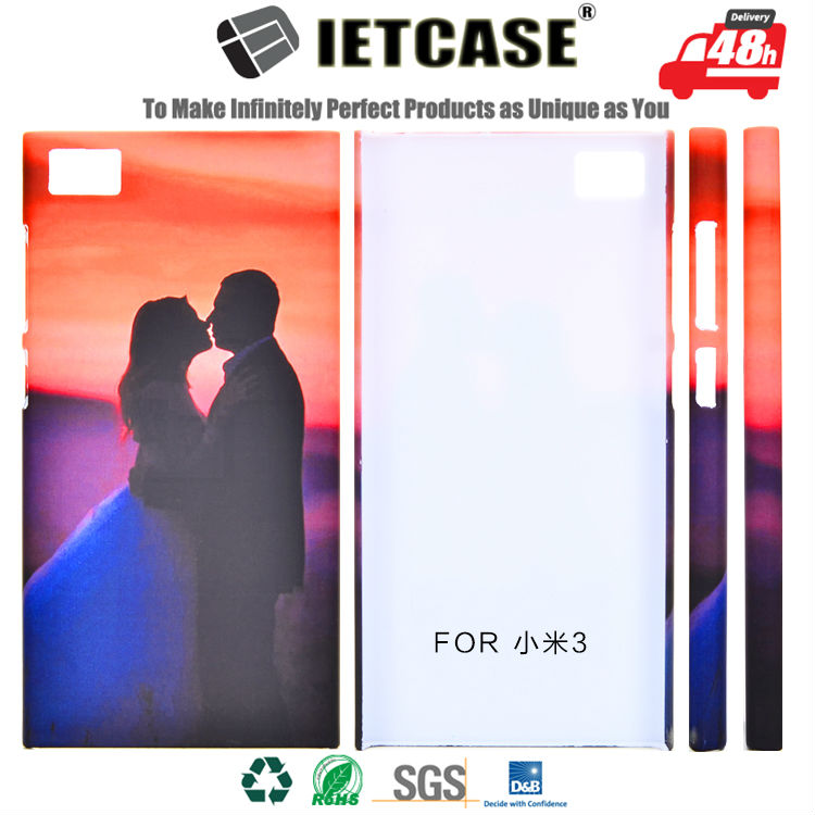 Wholesale Mobile Accessory Custom 3D Printing Fancy Design Cell Phone Shell Plastic Hard Cover for Xiaomi 3 redmi 3s Case