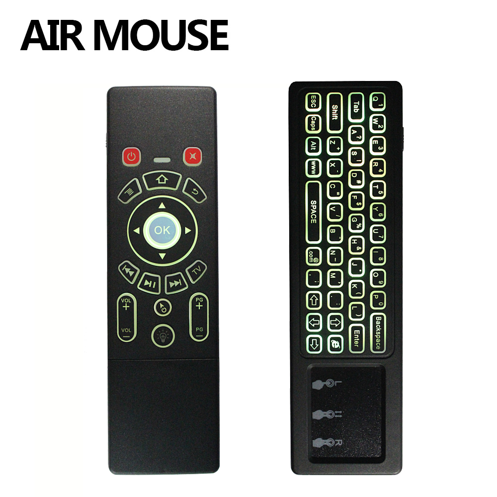 T6 English Version 2.4G Air mouse with Wireless Keyboard & touchpad Remote Control for Android TV Box mini PC Projector