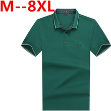 10XL 9XL 8XL 6XL Mens Polo Shirt Brands Slim Fit Casual Solid Polo Shirts Brand Clothing Short Sleeve Fashion Poloshirt Summer
