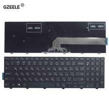 GZEELE  russian laptop Keyboard for DELL Inspiron 15 3000 5000 3541 3542 3543 5542 5545 5547 15 5547 15 5000 15 5545 17 5000 RU
