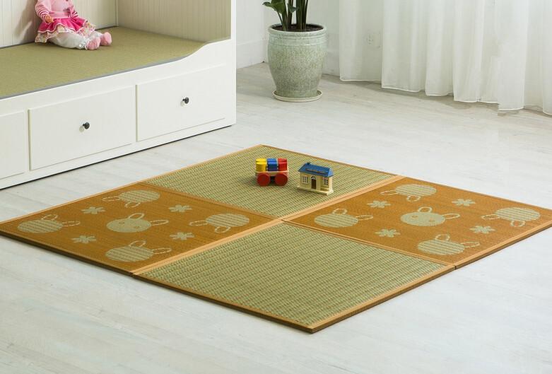 tm diy japons tatami almohadilla cuadrada cm cuatro piezas conjunto tradicional asitica zen diseo piso alfombra colchn