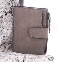 Xiniu Wallet For Women Mini Grind Magic Bifold Leather Wallet Card Holder Purse Leather Coin Money Bag Carteras Mujer(China)