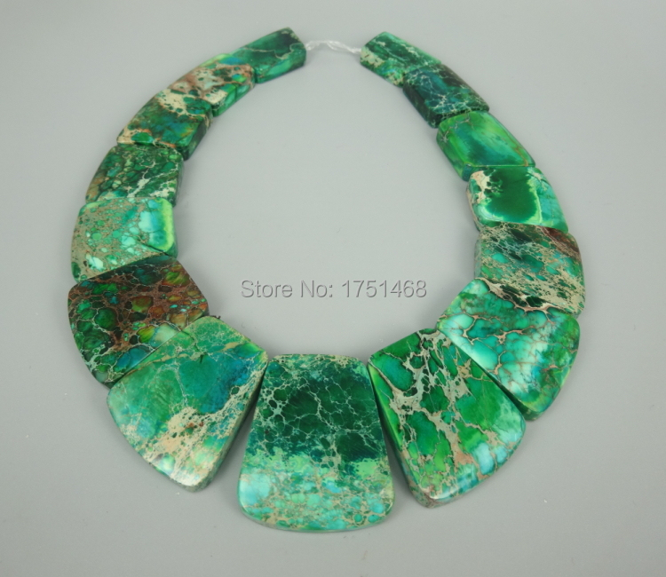 New Arrival Beautiful Trendy Gifts Sea Ocean Sediment Imperial Emp Slice Beads Top Drilled Slab Shape