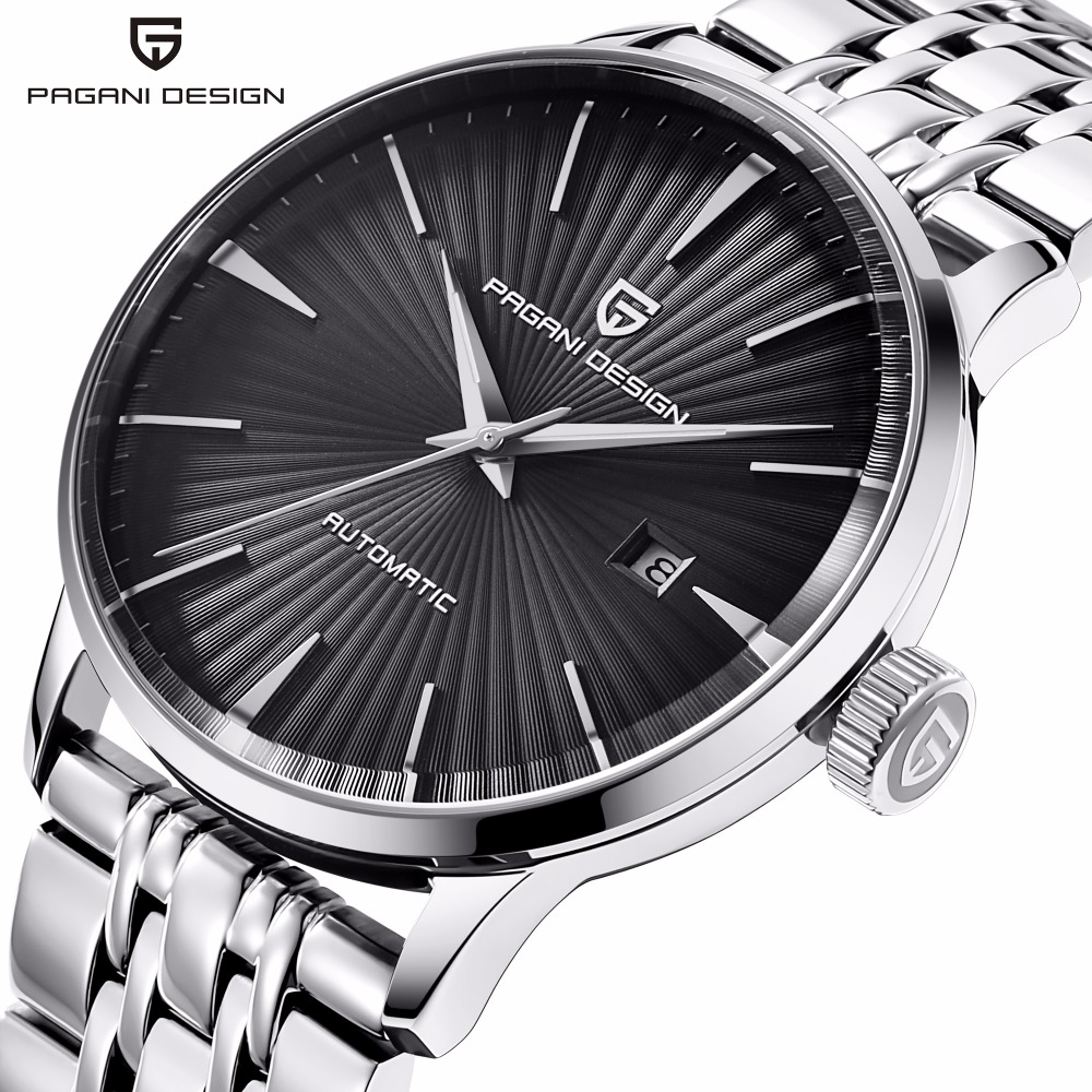 PAGANI Fashion Mechanical Men Watch Waterproof classic Brand Luxury Automatic Business male wrist Watch sport relogio masculinoPAGANI Fashion Mechanical Men Watch Waterproof classic Brand Luxury Automatic Business male wrist Watch sport relogio masculino