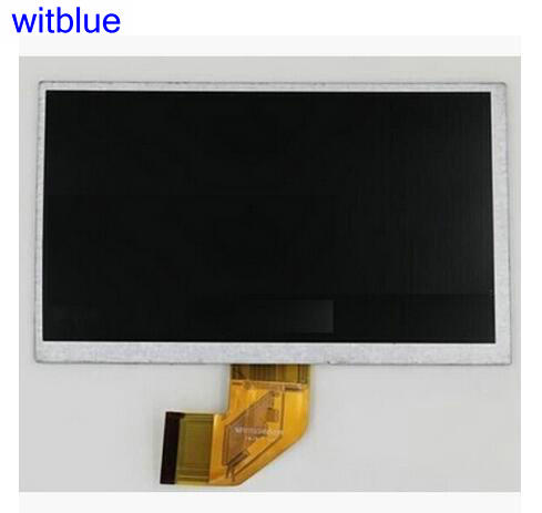 Witblue New For  7 TEXET X-pad QUAD 7/TM-7054 Tablet touch screen panel Digitizer Glass Sensor replacement Free Shipping new touch screen for texet tm 7058 x pad style 7 1 3g touch panel digitizer glass sensor replacement