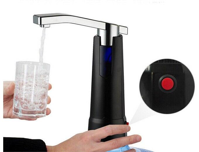 Электрический бутылка воды дозатор с Перезаряжаемые Батарея питьевой Бутылки для воды отсоса вода Кухня Инструменты