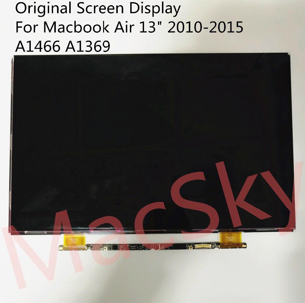 Brand New 13.3 Ordinateur Portable Verre Matrice pour Macbook Air 13 2010-2015 A1369 A1466 LCD Écran LED affichage EMC 2392 EMC 2632 EMC 2925