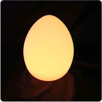 D26*H32cm 24 keys remote controlled 16 color changing wireless luxury LED Egg Light table lamp Night Lights Free shipping 1pc