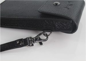 Image 5 - Кожаный чехол из натуральной воловьей кожи с ремнем для сотового телефона 5,0/5,5/6,3/6,4/7 дюймов, кожаный чехол для iphone, карман для хранения денег и карт