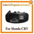Fábrica vendendo cor ccd car inverter rear view camera backup de estacionamento retrovisor para honda crv cr-v odyssey fit jazz elysion