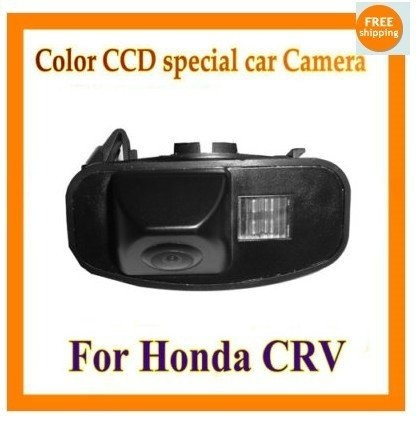 Factory selling color CCD Car Reverse Rear View backup Camera parking rearview For Honda CRV CR-V Odyssey Fit Jazz Elysion